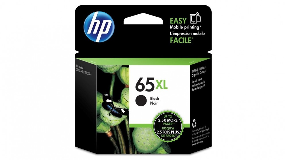 HP 65 XL Black Ink Cartridge