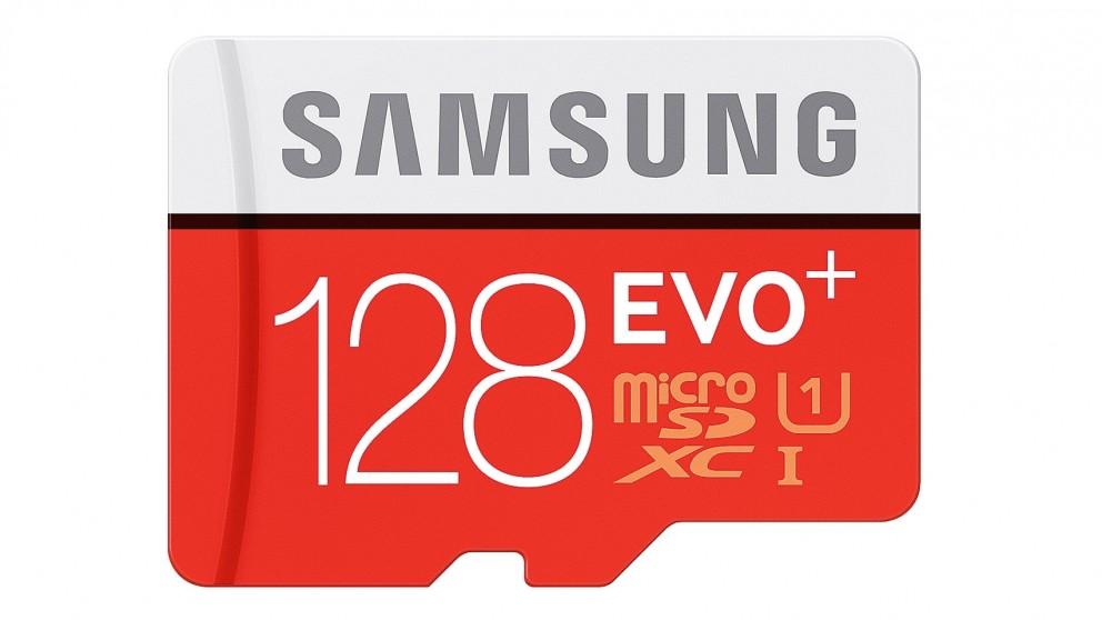 Samsung Evo Plus 128GB Micro SDHC Memory Card with SD Adapter