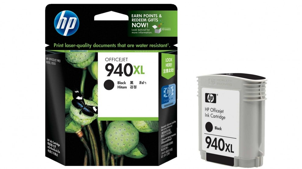 HP 940 XL Twin Black Ink Cartridge
