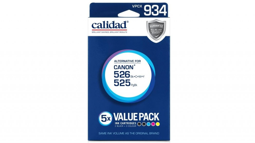Calidad Canon 525 + 526 Value Pack Ink Cartridge