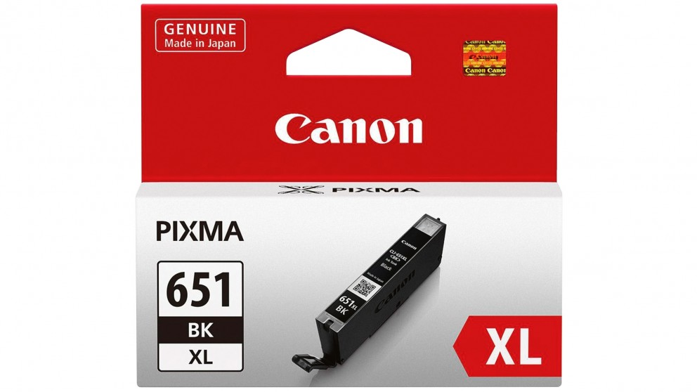 Canon Large Ink Cartridge CLI-651XLBK