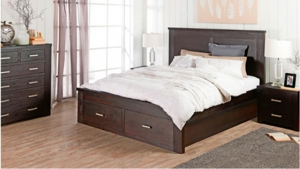 Rustic 4 Piece Bedroom Suite