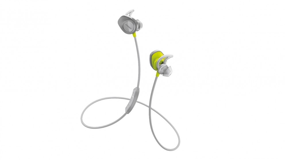 Bose SoundSport Wireless In-Ear Headphones - Citron