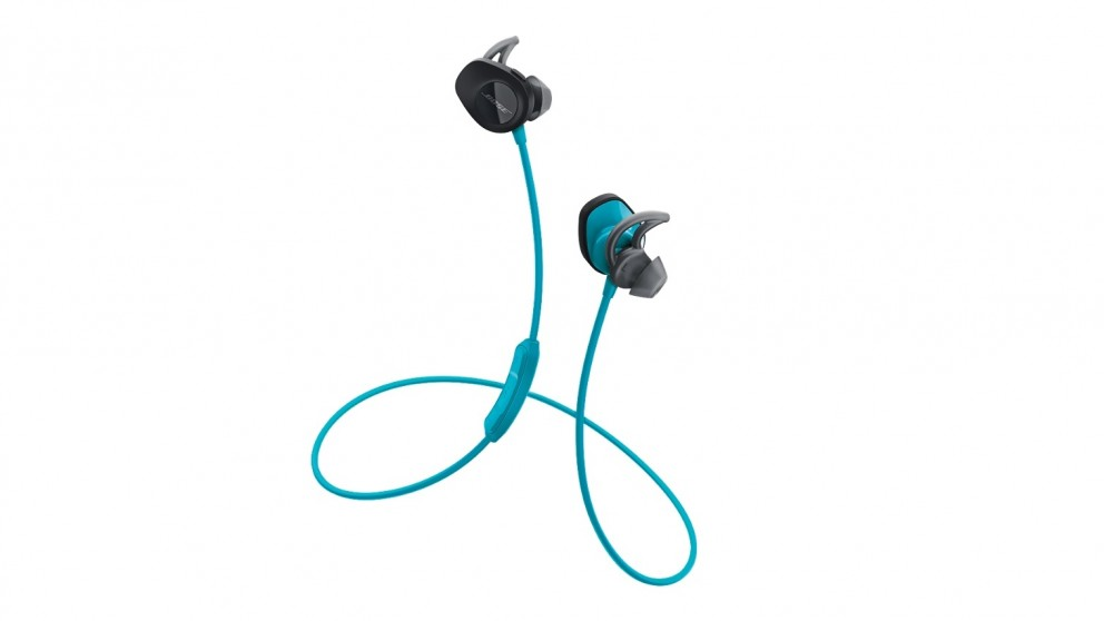 90fa4a1b019 Buy Bose SoundSport Wireless In-Ear Headphones - Aqua | Harvey Norman AU