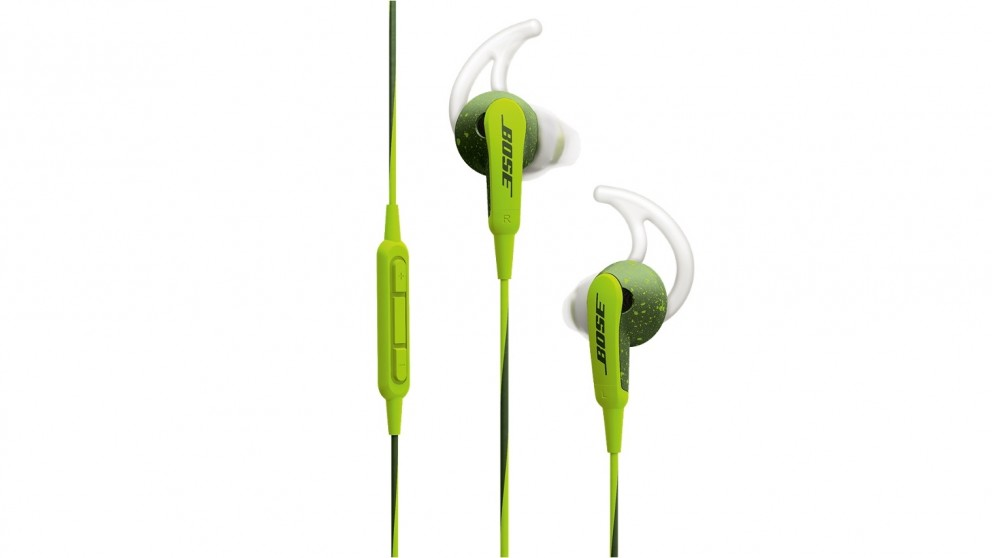 Bose SoundSport In-Ear Headphones for Apple Devices - Green