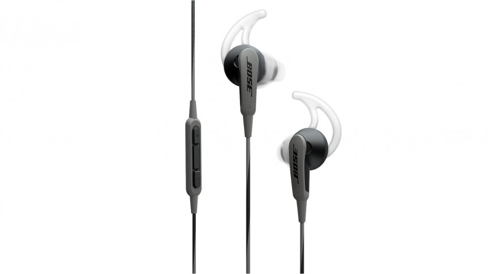 Bose SoundSport In-Ear Headphones for Apple Devices - Charcoal