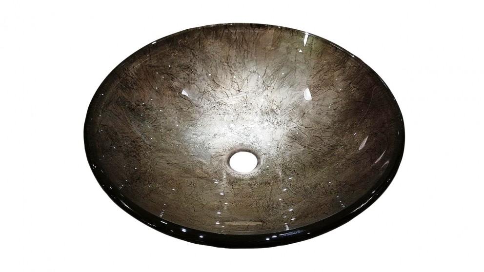 Ledin Blaze Round Glass Basin
