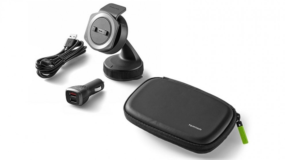 TomTom Rider Car Mounting Kit & Travel Carry Case Bundle