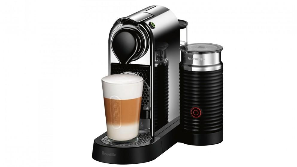 Nespresso Citiz & Milk Capsule Coffee Machine - Chrome