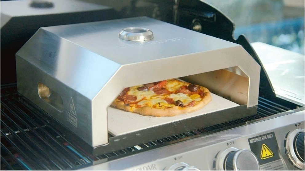 Bbq Pizza Oven.Firebox Bbq Stainless Steel Pizza Oven
