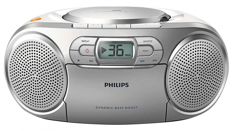 Philips CD Soundmachine Portable Cassette and CD Player