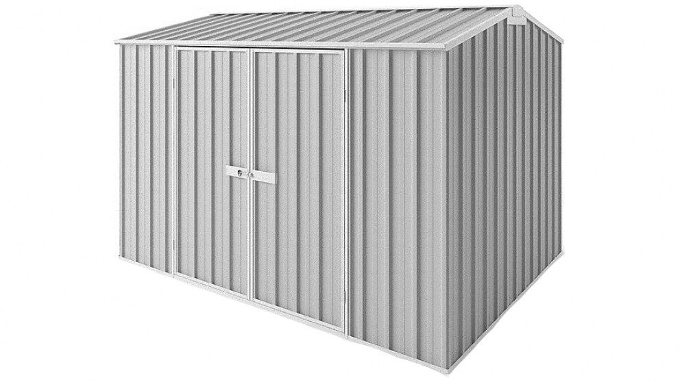 EasyShed Tall Gable Garden Shed - Zinc