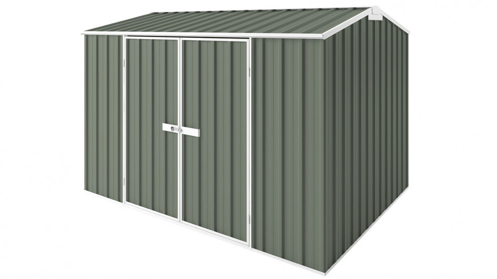 EasyShed Tall Gable Garden Shed - Mist Green