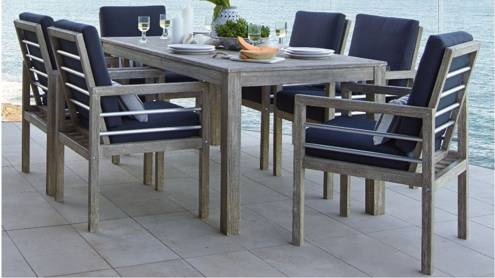 Superior Hayman 7 Piece Outdoor Dining Setting Part 7