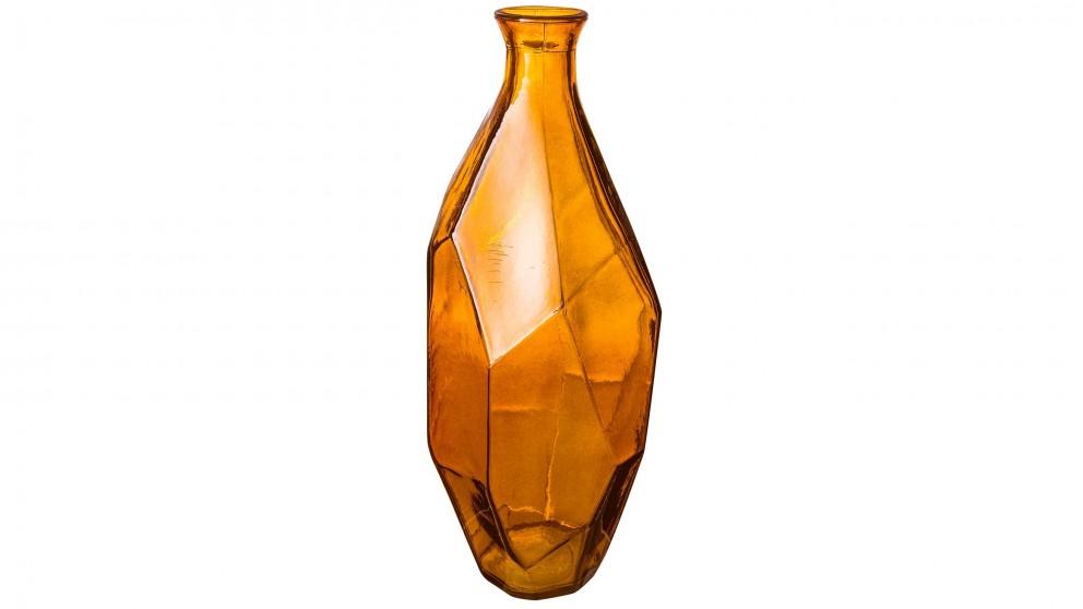 Origami Large Bottle - Amber