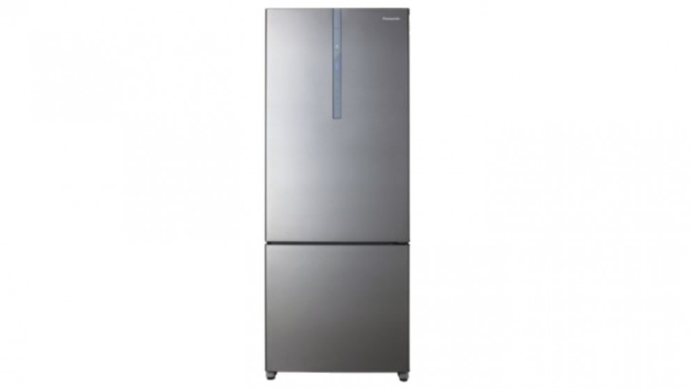Panasonic 407L Bottom Mount Fridge - Silver
