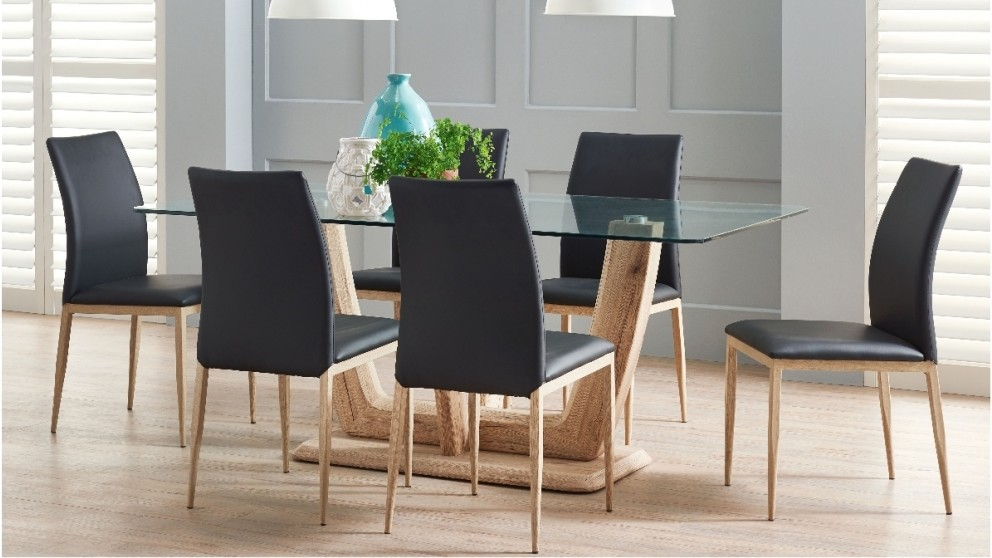 cassis 7 piece dining setting - dining furniture - dining room