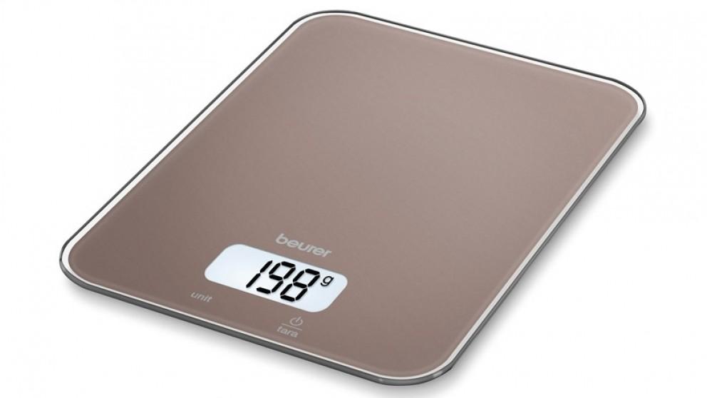 Beurer Digital Kitchen Scale - Toffee