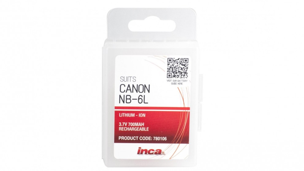Inca NB-6L Canon Replacement Battery
