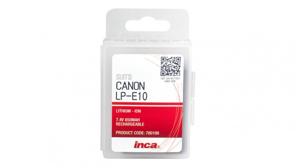 Inca LP-E10 Canon Replacement Battery