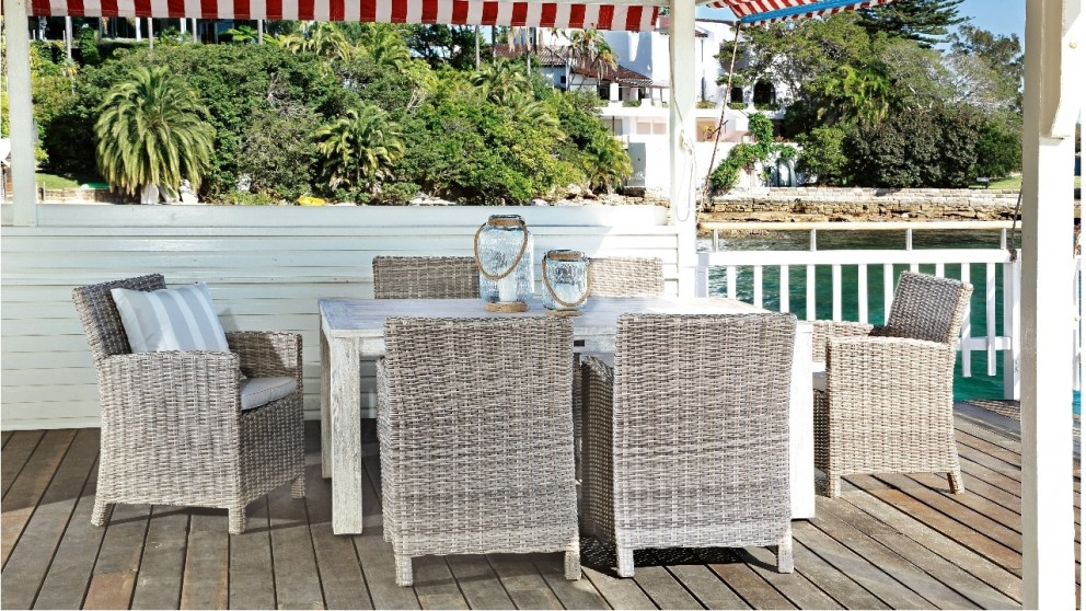 Lovely Capella 7 Piece Outdoor Dining Setting Part 3