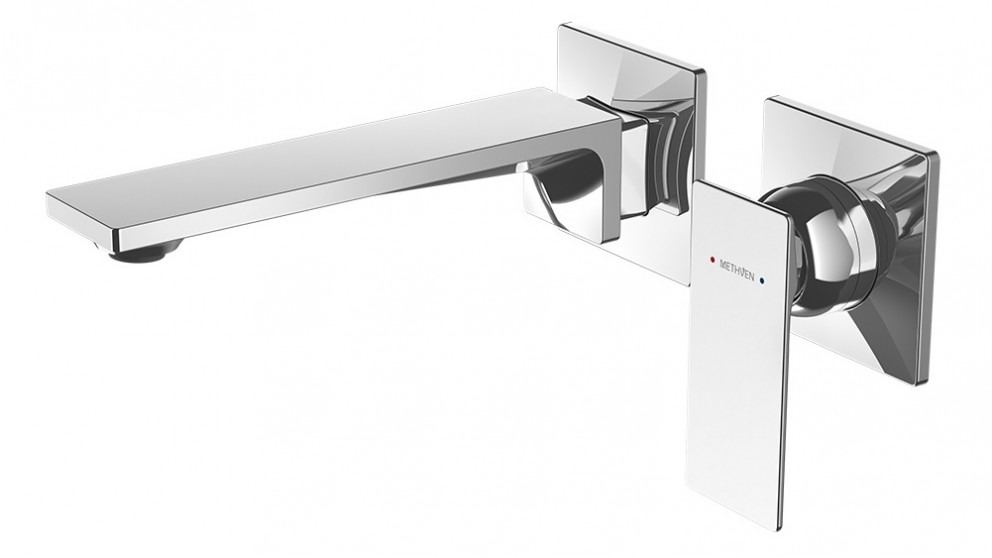 Methven Surface Wall Mounted Bath Mixer with Spout