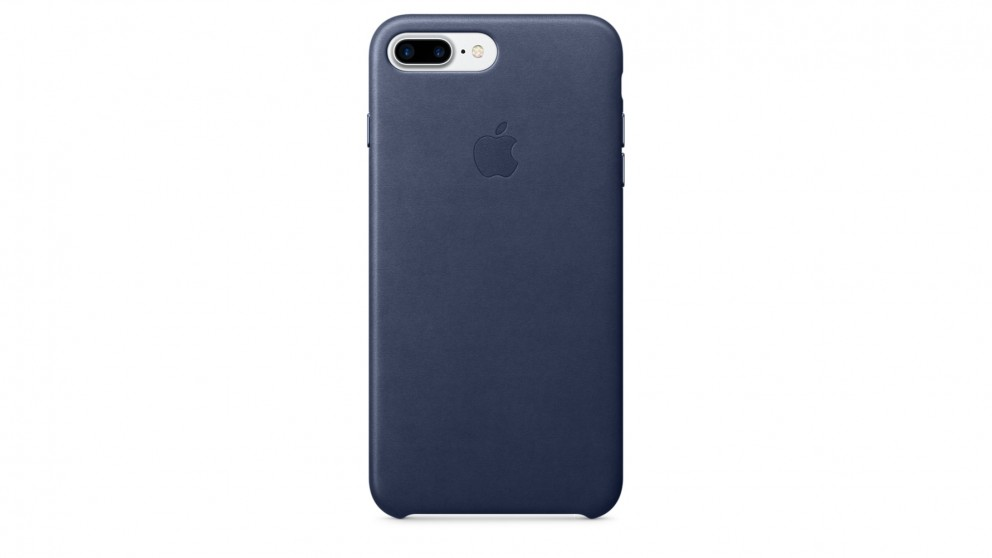 Buy Apple iPhone 7 Plus Leather Case - Midnight Blue  01c3a033eaa2