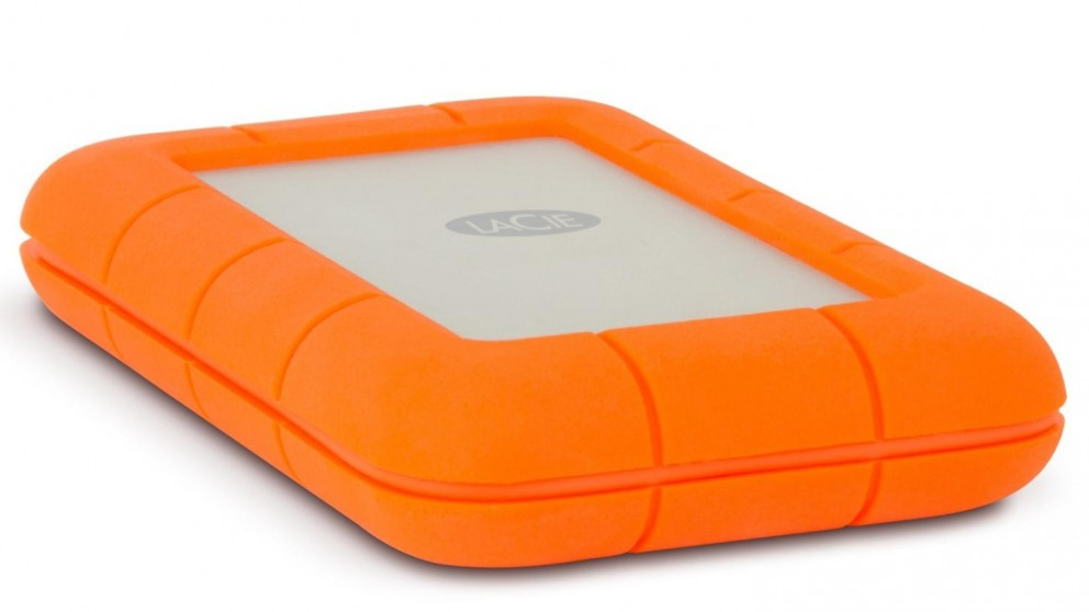 LaCie Rugged Raid 4TB Portable External Hard Drive