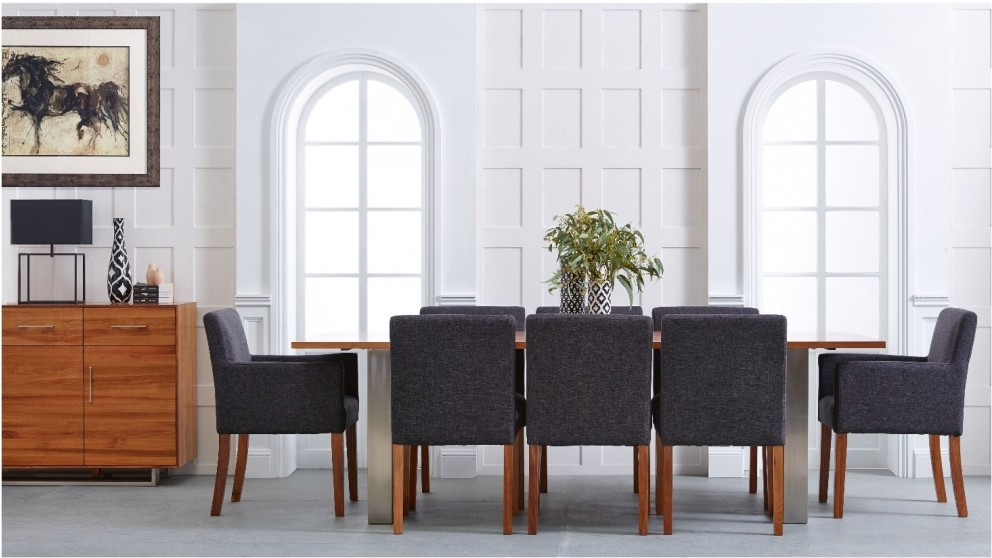 balfour 9 piece dining setting - dining furniture - dining room