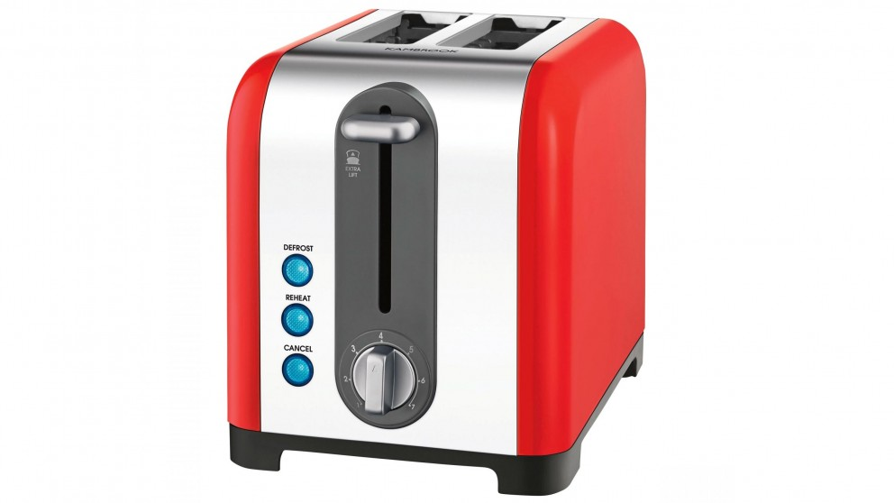 Kambrook 2 Slice Toaster - Red