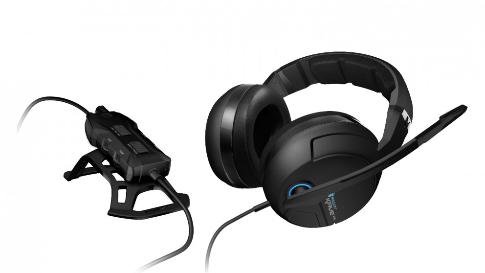 Roccat Kave XTD 5.1 Analog Over-Ear Gaming Headset