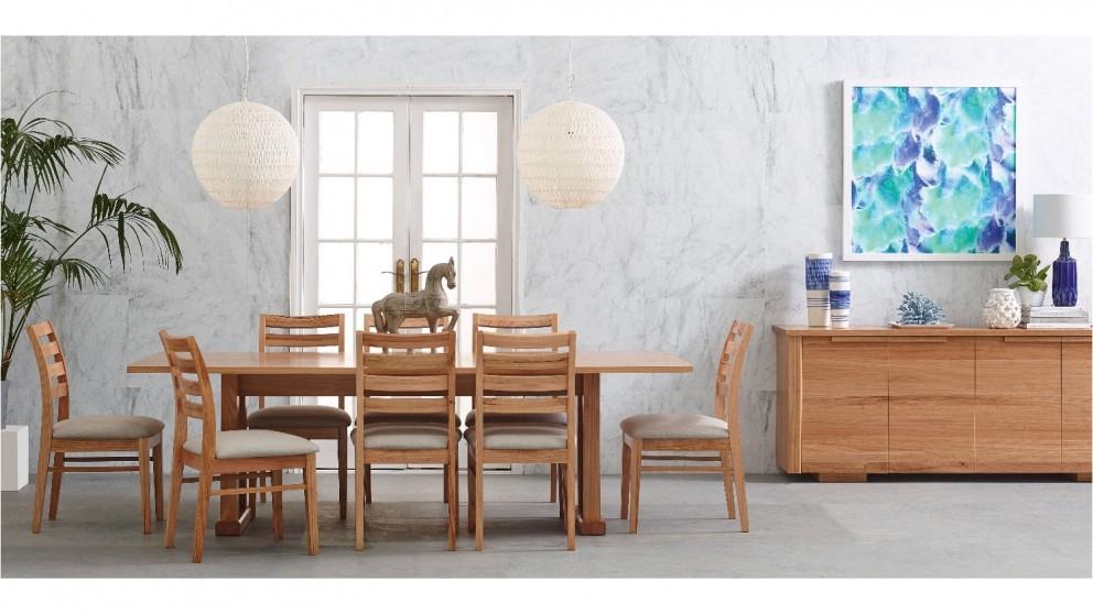 salamanca 9 piece dining setting - dining furniture - dining room