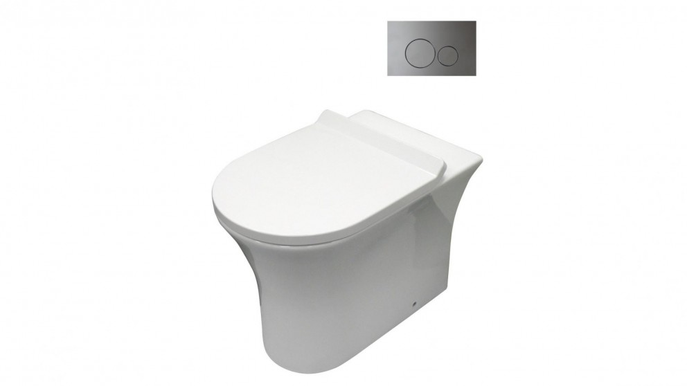 Parisi Play MK II Wall Faced Pan with In Wall Cistern and Flushplate