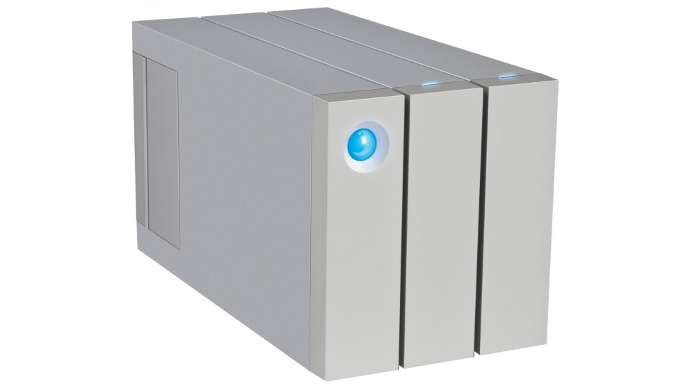 LaCie 2big Thunderbolt 2 2-Bay 6TB External Hard Drive