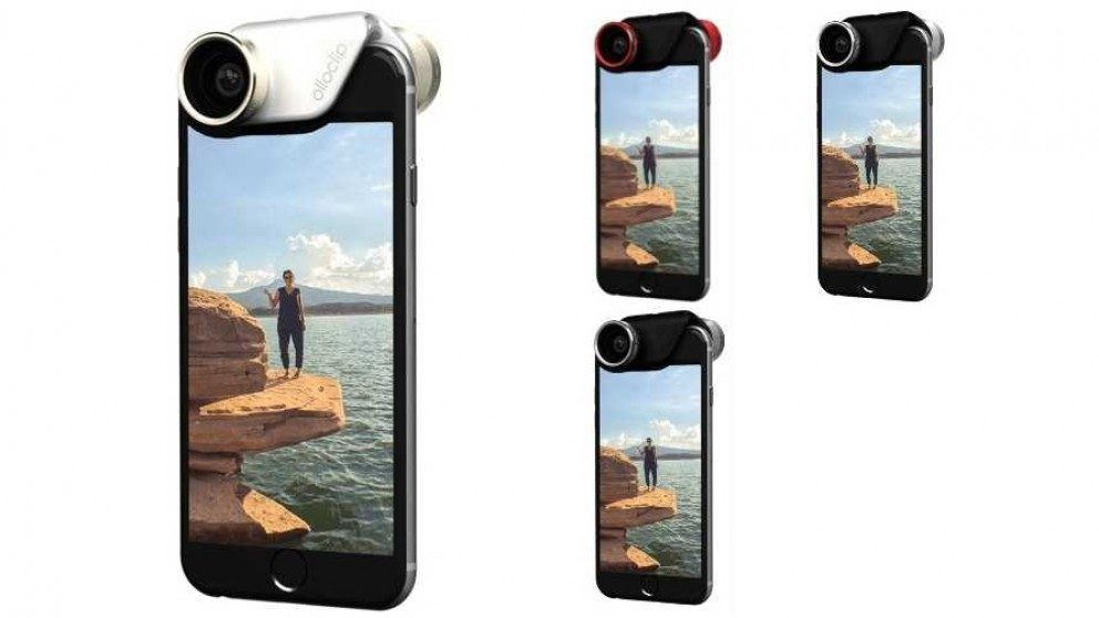 Olloclip iPhone 6/6 Plus Clip On 4-in1 Lens Kit
