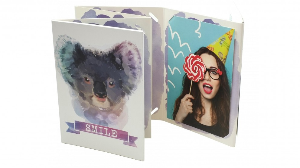 "Instax 6"" x 4"" Accordion Photo Frame - Koala"