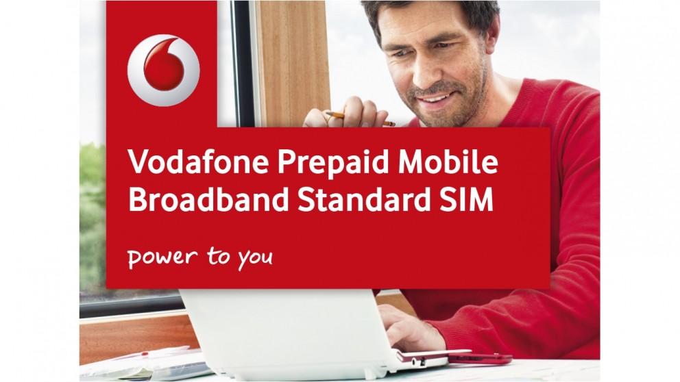 Vodafone 3G/4G 8GB Nano Data Sim Card