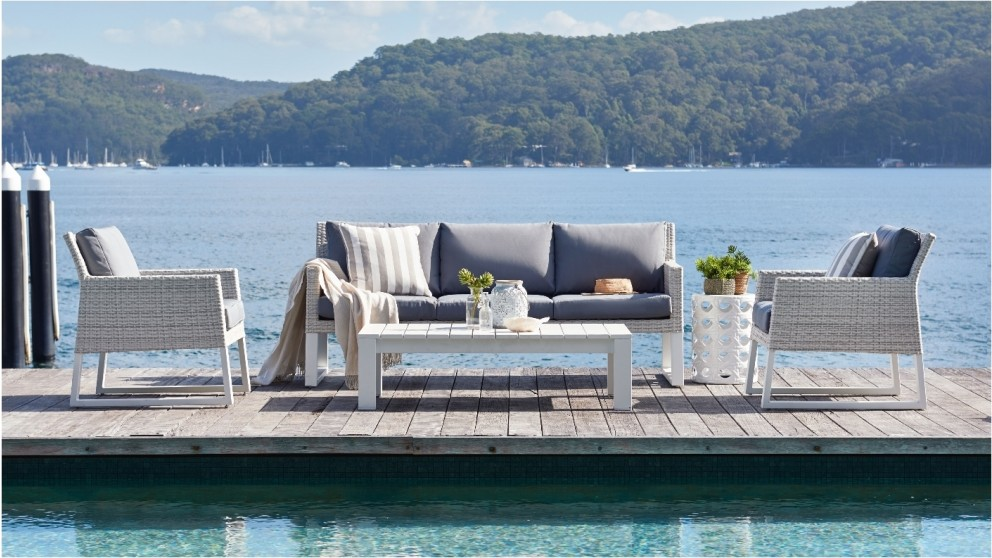 Quay 4 Piece Outdoor Lounge Setting Part 55