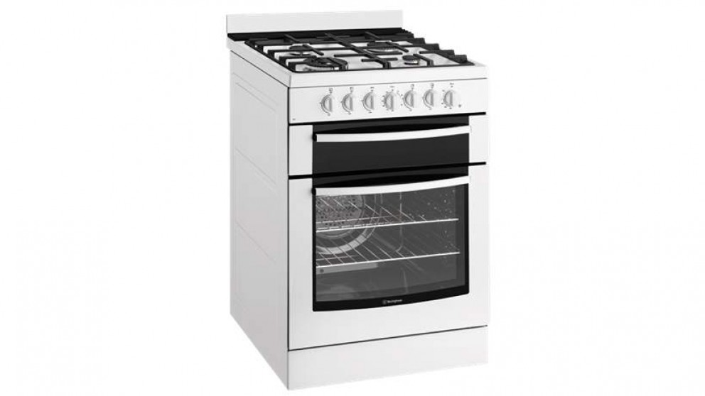 Westinghouse 60cm Dual Fuel Freestanding Cooker - White