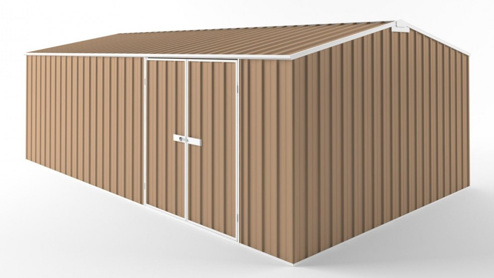 EasyShed D6038 Truss Roof Garden Shed - Pale Terracotta