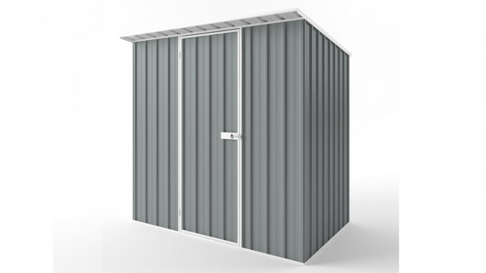 EasyShed S2315 Skillion Roof Garden Shed - Armour Grey
