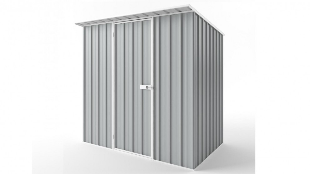 EasyShed S2315 Skillion Roof Garden Shed - Gull Grey