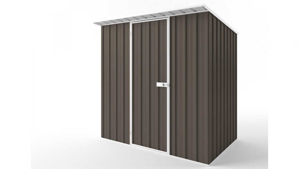 EasyShed S2315 Skillion Roof Garden Shed - Jasmine Brown