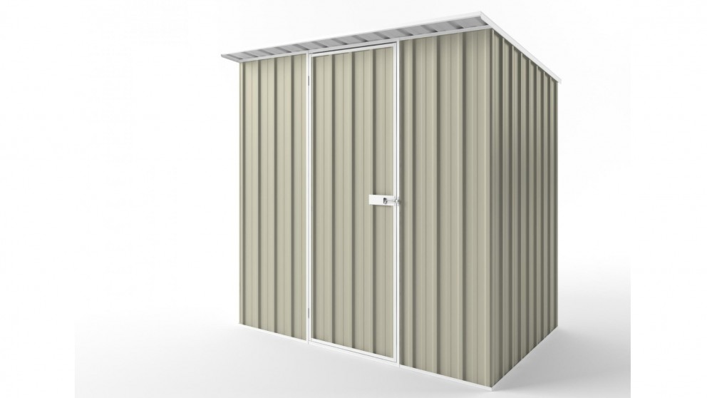 EasyShed S2315 Skillion Roof Garden Shed - Merino