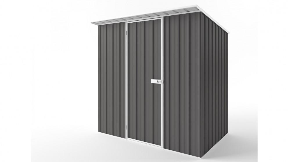 EasyShed S2315 Skillion Roof Garden Shed - Slate Grey