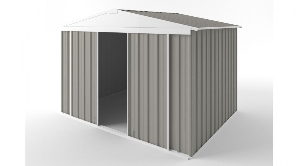 EasyShed D3023 Gable Slider Roof Garden Shed - Birch