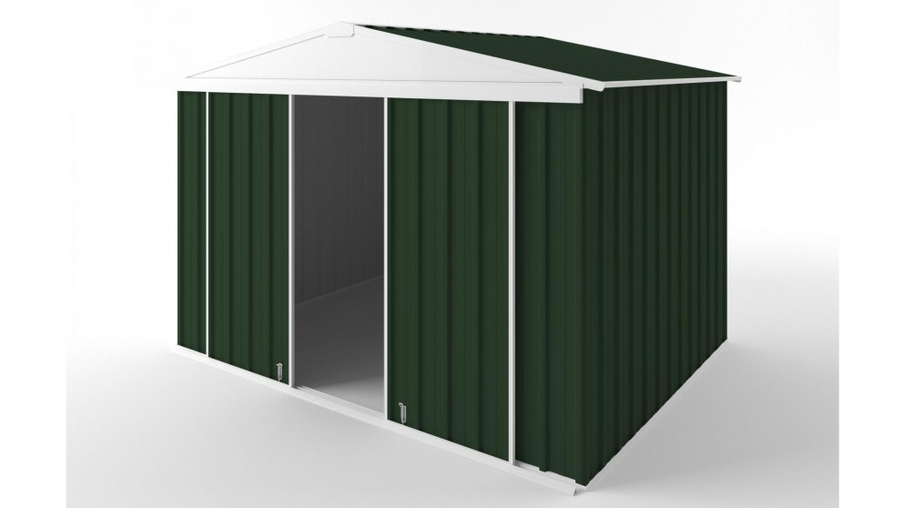 EasyShed D3023 Gable Slider Roof Garden Shed - Caulfield Green