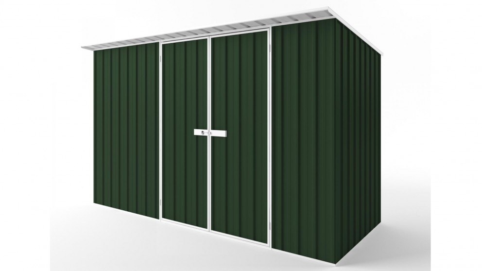 EasyShed D3815 Skillion Roof Garden Shed - Caulfield Green