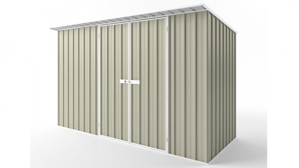 EasyShed D3815 Skillion Roof Garden Shed - Merino