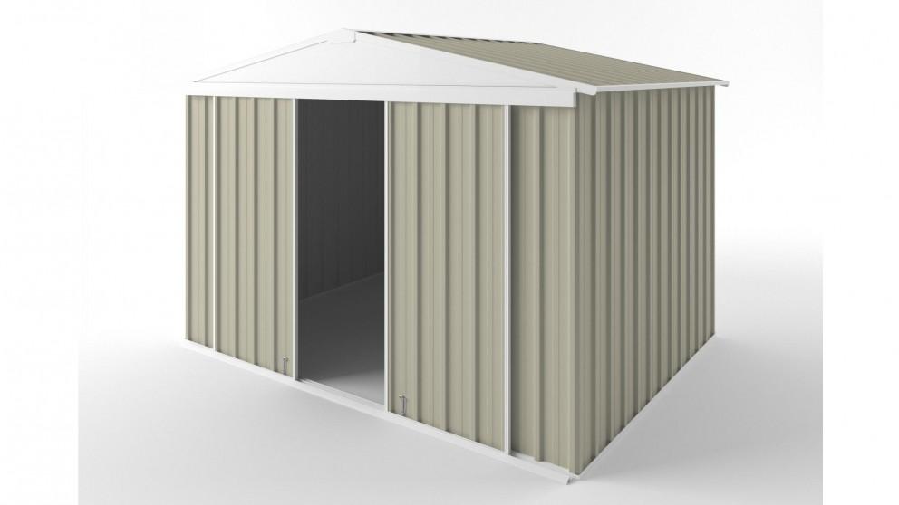 EasyShed D3023 Gable Slider Roof Garden Shed - Merino